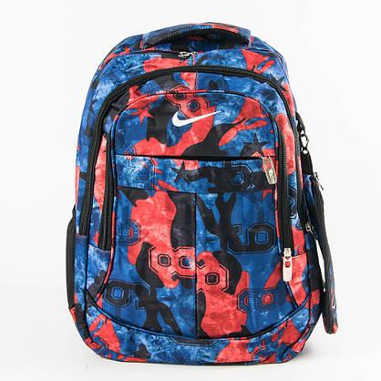 Спортивный рюкзак Nike синий с красным - 926, фото 2