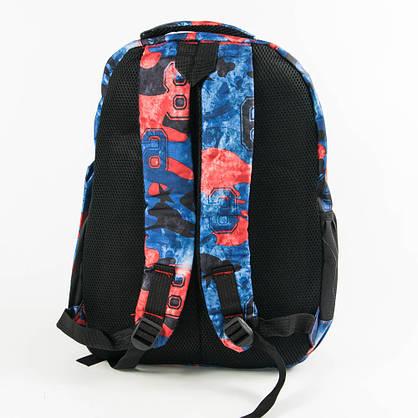 Спортивный рюкзак Nike синий с красным - 926, фото 3