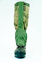 Гетры, гамаши с металлическим тросиком Tracker Professional Snow A-TACS FG, фото 3