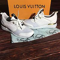 Женские кроссовки Louis Vuitton белые