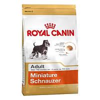 Royal Canin сухой корм для собак миниатюрный шнауцер старше 10 месяцев - 7,5 кг