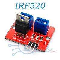 IRF520, модуль управления нагрузкой