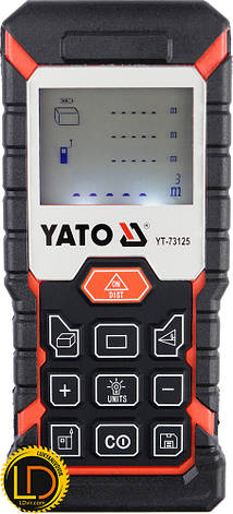 Лазерный дальномер Yato YT-73125, фото 2
