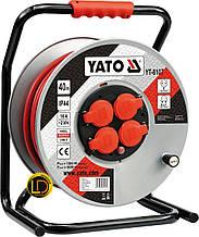 Удлинитель на катушке Yato 40м 3G 2,5мм2