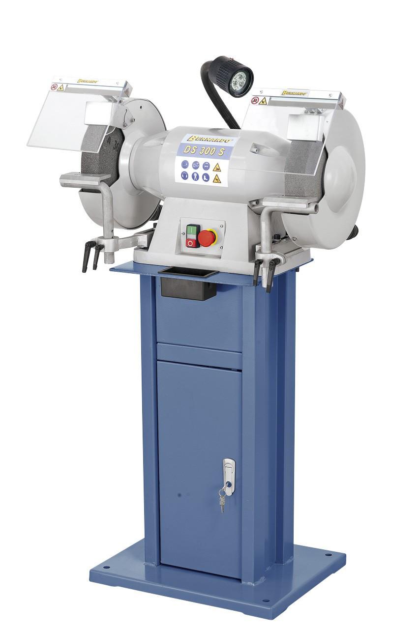 DS 300S заточной станок промышленный | Точильно шлифовальный станок с пылесосом Bernardo Австрия