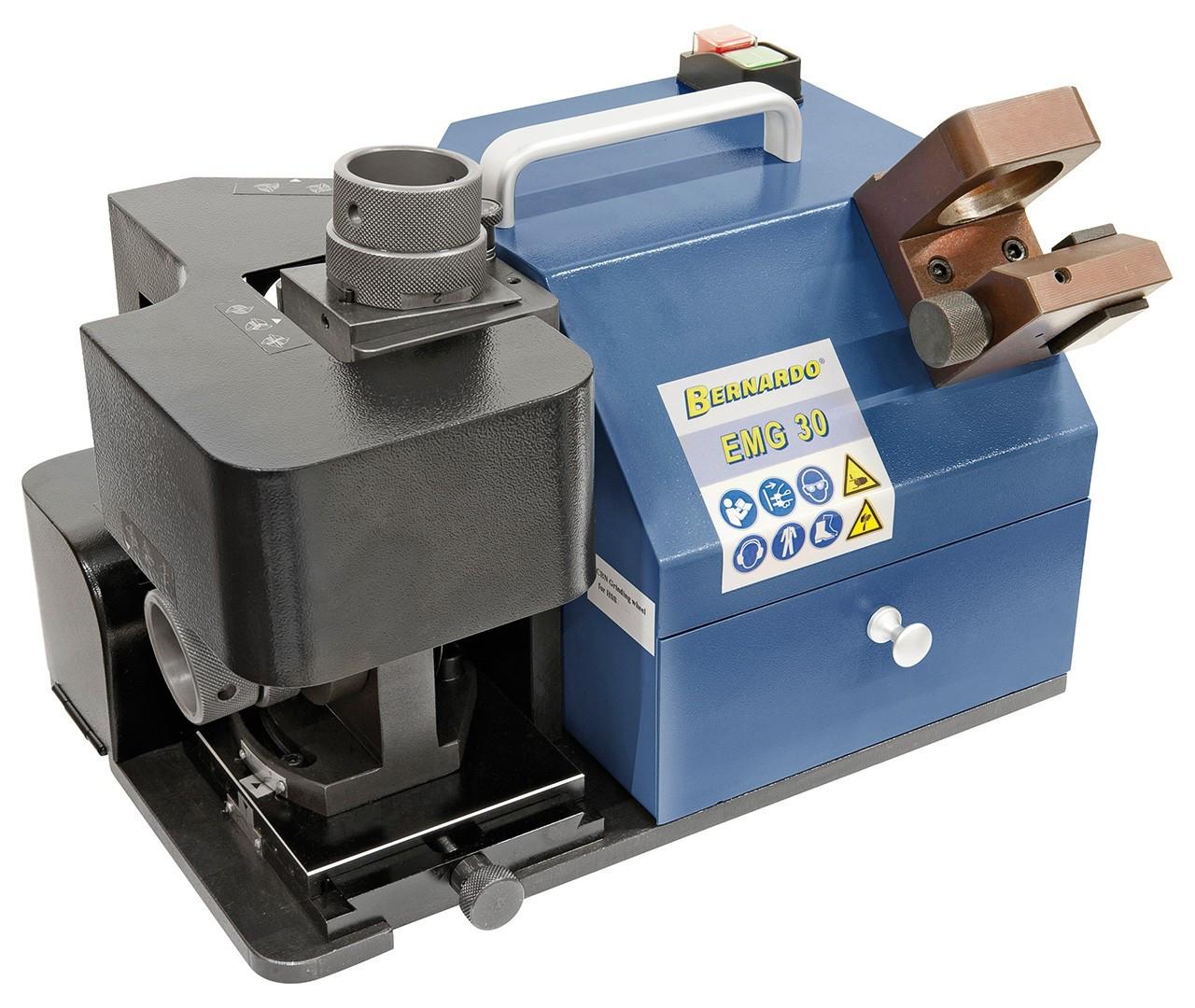 EMG30 станок для заточки концевых фрез по металлу, заточной станок для заточки фрез (12-30 мм) Bernardo