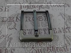 Пряжка ременная 40мм 051, т.никель