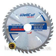 Пильный диск WellCut Standard 115x22.23  40Т