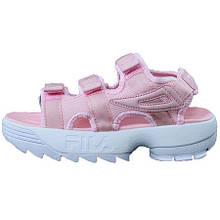 Сандали женские Fila Sandals Фила (розовые) Top replic