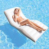 Надувной шезлонг кресло для плавания и отдыха на пляже сделает ваш отдых комфортным. Читать любимую книгу, не