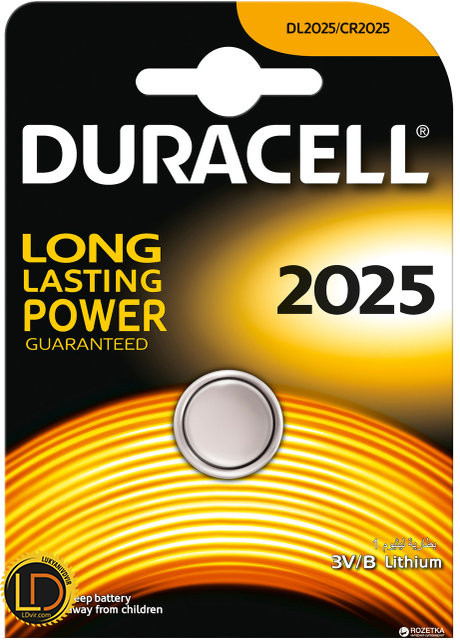 DURACELL DL2025 DSN
