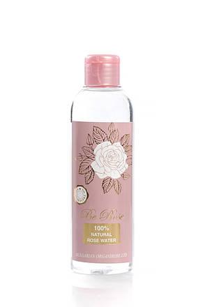 Розовая вода натуральная Be Rose от Bulgarian OrganiRose 200 мл, фото 2