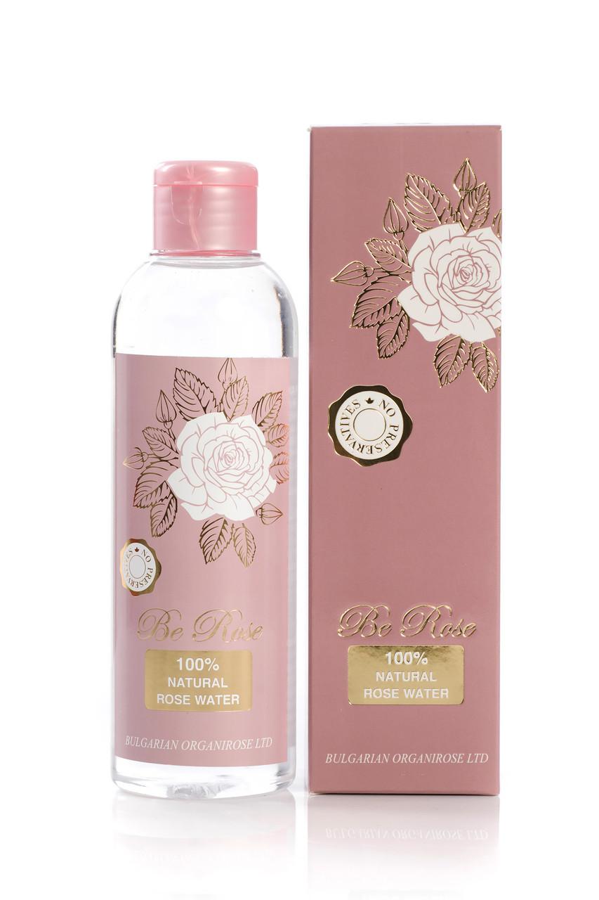 Розовая вода натуральная Be Rose от Bulgarian OrganiRose 200 мл