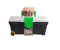 """Ящик для инструментов GreenBox12"""" с органайзером"""
