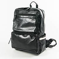 Прогулочный/школьный рюкзак из эко-кожи - 15-813, фото 1