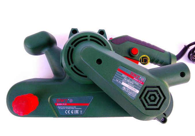 Ленточная шлифмашина DWT BS09-75 V, фото 2