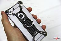 7 8 Plus Nilkin Barde Чехол-Накладка Металлический Бампер metal case черный