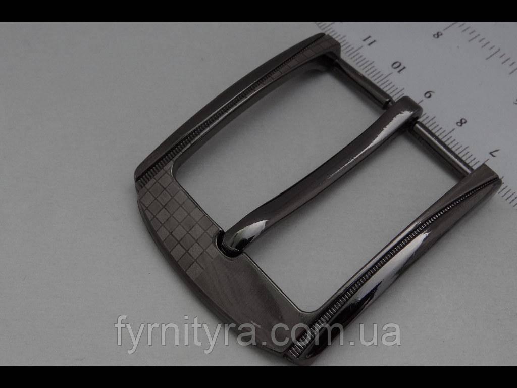 Пряжка ременная 40мм 056, т.никель