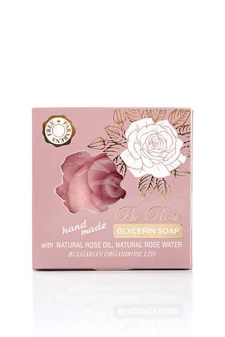 Глицериновое мыло Be Rose от Bulgarian OrganiRose 80 гр, фото 2