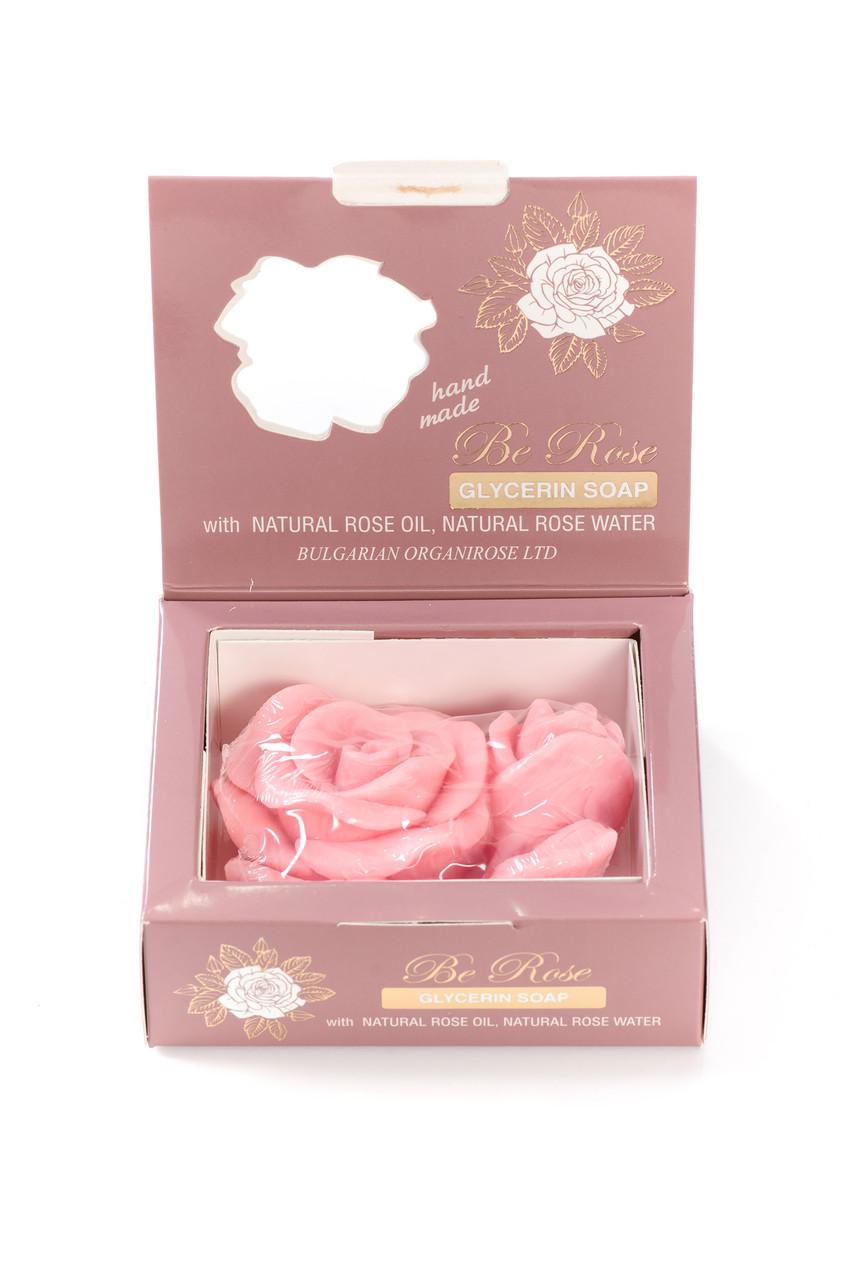 Глицериновое мыло Be Rose от Bulgarian OrganiRose 80 гр