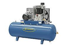 Стационарный масляный компрессор 500 л, 7.5 кВт, 10 атм, 1200 л/мин AC50 Bernardo   Компрессор 400 В