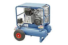 Мобильный компрессор 11+11 л, 3.0 кВт, 10 бар, 550 л/мин AC28 DUO Bernardo   Компрессор 400 В