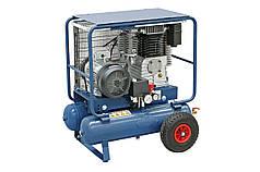 Мобильный компрессор 11+11 л, 4.0 кВт, 10 бар, 600 л/мин AC35 DUO Bernardo   Компрессор 400 В