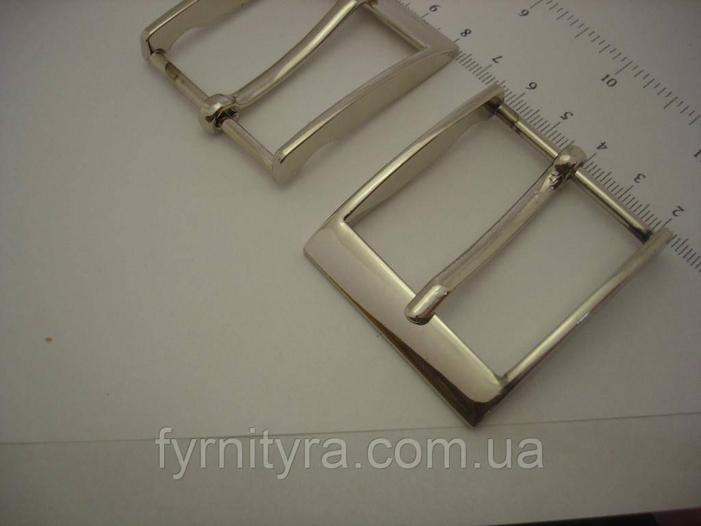 Пряжка ременная 40мм 3550, никель