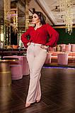 Блуза женская батал, фото 8