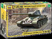 Сборная модель Zvezda (1:35) Советский средний танк Т-34/85