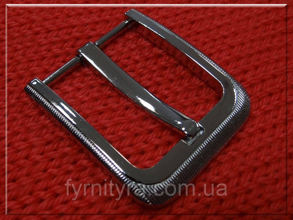 Пряжка ременная 40мм 3559, никель