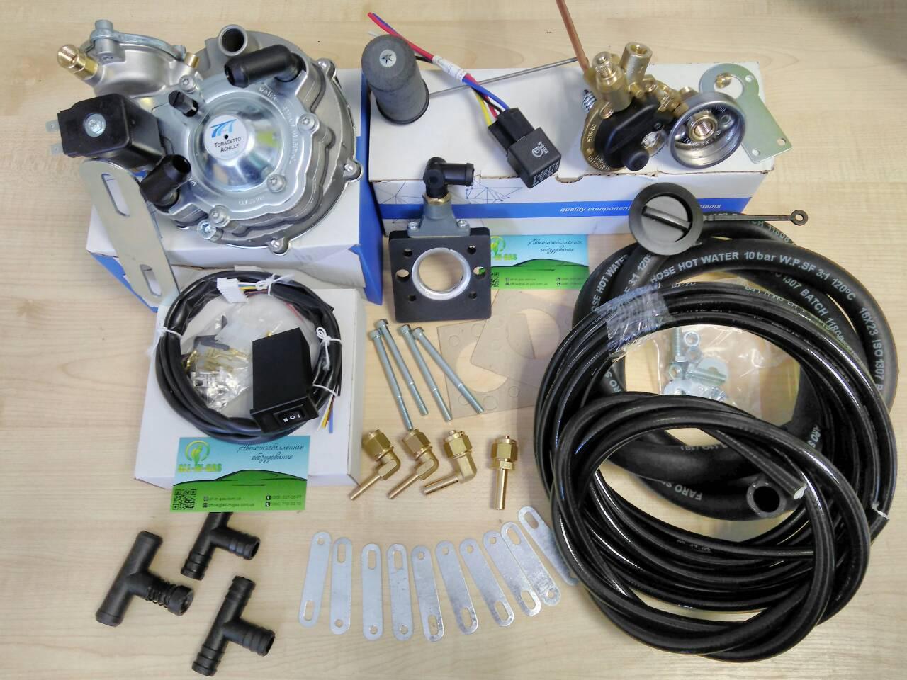 Комплект ГБО 2 поколения на моноинжектор (Audi, Opel, Volkswagen)