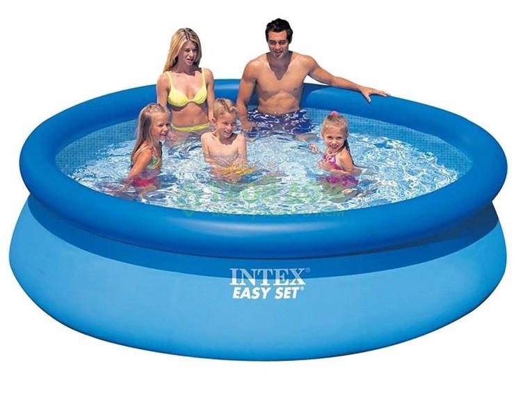 Надувной семейный бассейн Intex 28120 размер 305*76 см