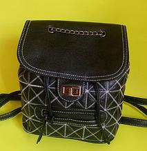 Рюкзак женский черный 023G