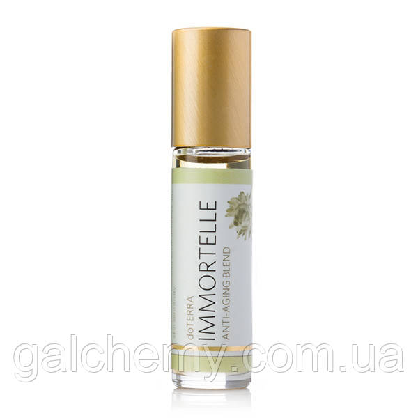 Immortelle Anti-Aging Blend / «Иммортель», смесь эфирных масел, роллер, 10 мл