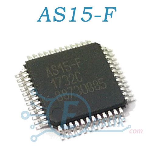 EC5575-F (AS15-F), гамма коректор для TFT LCD телевізорів, TQFP48