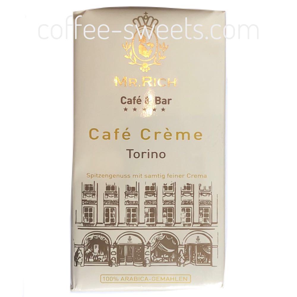 Кофе молотый Mr. Rich Torino Cafe Creme 500г