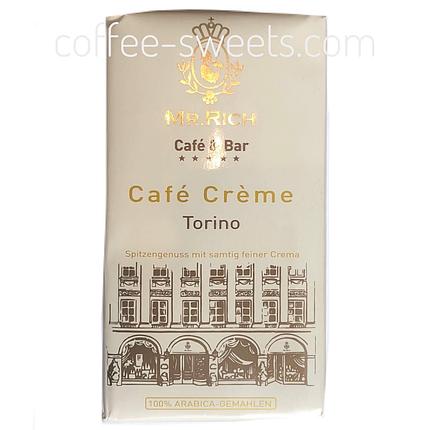 Кофе молотый Mr. Rich Torino Cafe Creme 500г, фото 2