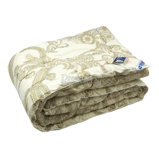 """Одеяло Руно """"321.29ШЕУ Luxury"""" 140х205 см бежевое (4820041951330)"""