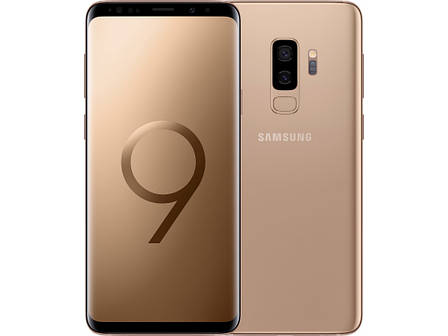 Смартфон Samsung Galaxy S9+ 6/128GB Gold, фото 2