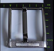 Пряжка ременная 45мм 014 темный никель