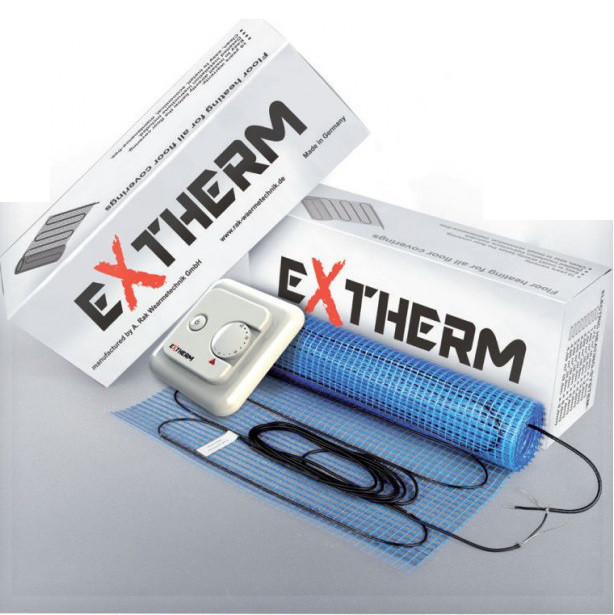Теплый пол Extherm (Германия) мат 14м2