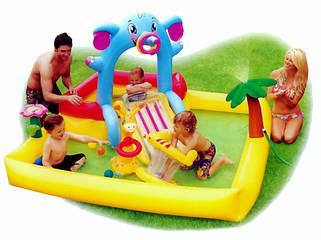 Детские надувные водные игровые центры
