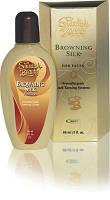 Крем для загара лица Browning Silk ® в солярии