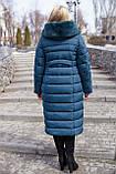 Женское зимнее длинное пальто Амаретта,  размеры 54 - 64, Новая коллекция  NUI VERY,, фото 4