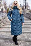 Женское зимнее длинное пальто Амаретта,  размеры 54 - 64, Новая коллекция  NUI VERY,, фото 2