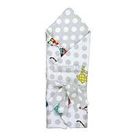 """Одеяло-конверт антиаллергенное Руно """"957СУ Сat"""" 85х85 см серое (4820041939796)"""