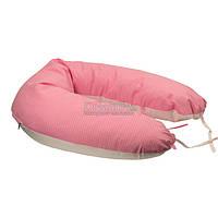 """Подушка для кормления Руно """"969БВУ"""" 30х175 см розовая (4820041943984)"""