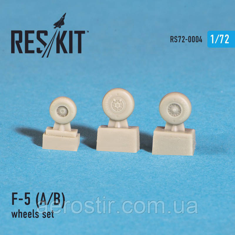 """Northrop F-5 A/B """"Freedom fighter"""" wheels set 1/72 RES/KIT 72-0004"""