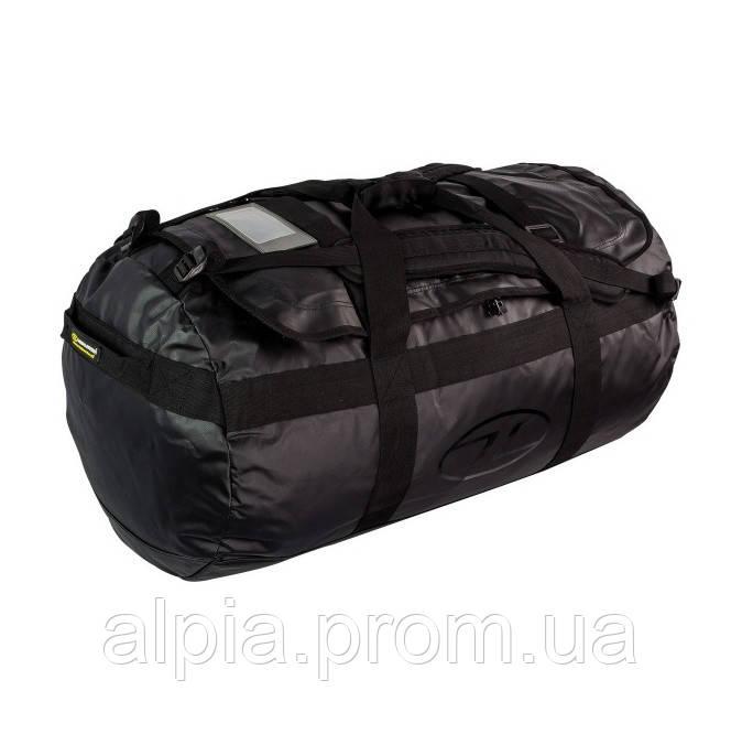 Дорожная сумка-рюкзак Highlander Lomond Tarpaulin Duffle 90 Black